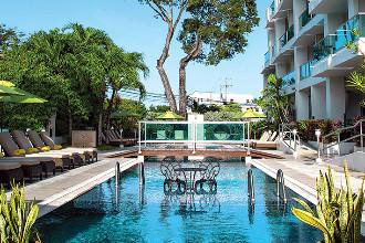 Image du south beach hotel garden offert par VosVacances.ca