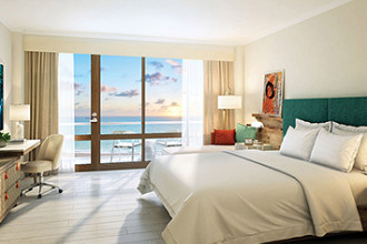 Image du dreams curacao resort spa and casino beach offert par VosVacances.ca
