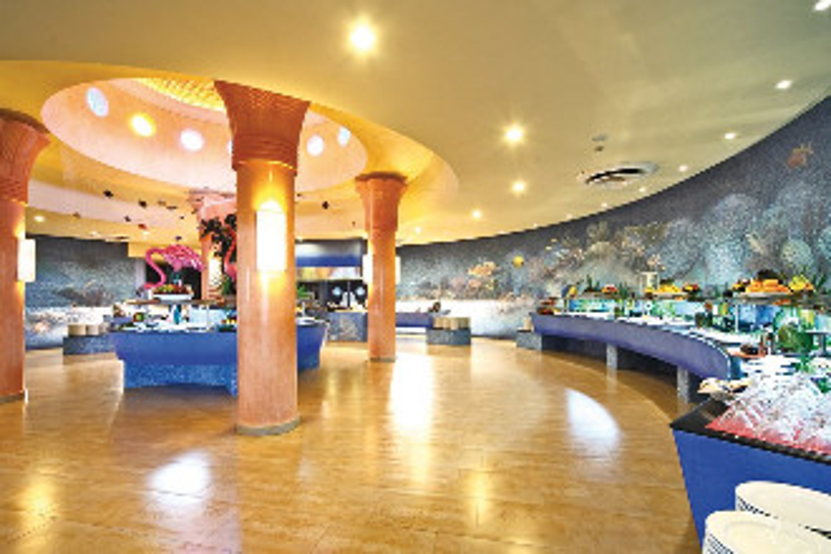 Image du barcelo maya palace fitness offert par VosVacances.ca