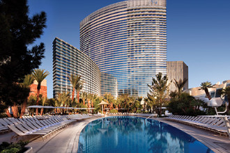 Main image of the Aria Resort Casino offered by YourVacations.ca