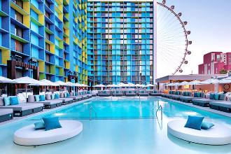 Image du the linq hotel and casino beach offert par VosVacances.ca
