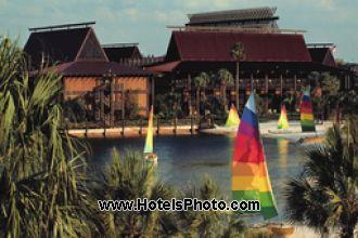 Image principale de l'hôtel Disney Polynesian Resort offert par VosVacances.ca