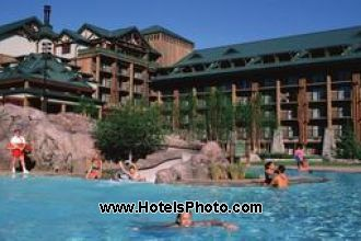 Image du disney wilderness lodge hotel offert par VosVacances.ca