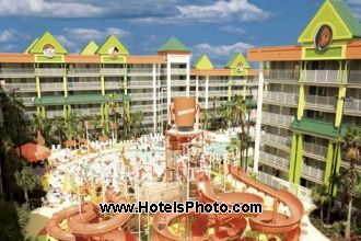 Image du nickelodeon family suites by holiday inn beach offert par VosVacances.ca