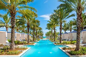Image du grand hyatt baha mar beach offert par VosVacances.ca