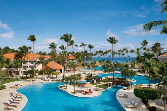 Image du dreams palm beach beach offert par VosVacances.ca