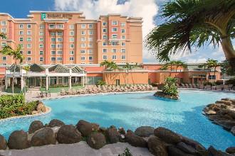 Image du embassy suites by hilton hotel and casino balcony offert par VosVacances.ca