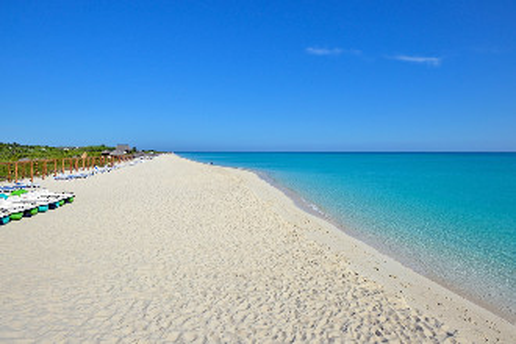 Image du sol cayo santa maria beach offert par VosVacances.ca