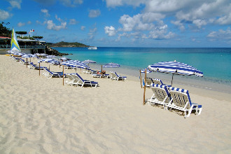 Image du grand case beach balcony offert par VosVacances.ca