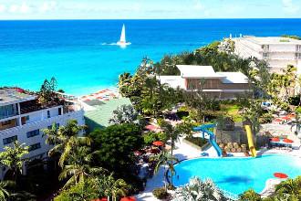 Image du sonesta maho beach balcony offert par VosVacances.ca